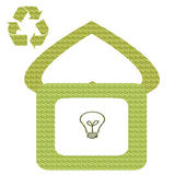 Eco-House — Stock Photo
