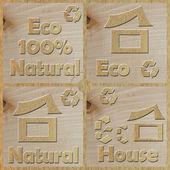 Eco-House — Stock Photo