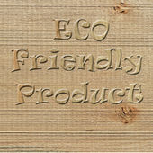 Eco-House — Stockfoto