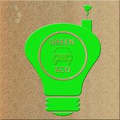 Green eco — Stock Photo
