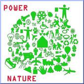 Power nature — Stock Photo