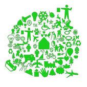 Green technology — Stock Photo
