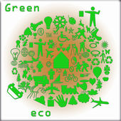 Green eco — Stock Photo