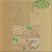 Eco house — Stockfoto