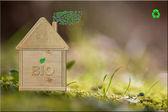 Naturalny dom — Zdjęcie stockowe