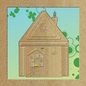 Natuurlijke huis — Stockfoto