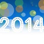 2014 horse new year — Stock Photo
