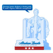 Lincoln Day — Stock Photo
