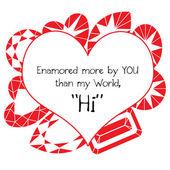 Feliz Dia dos Namorados — Fotografia Stock