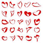 25 Hearts — Foto de Stock