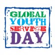 Global Youth Service Day — Stock Photo #41140435