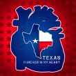 Stock Photo: Texas Independence Day