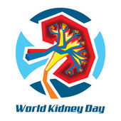 World Kidney Day — Stock Photo