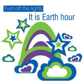 Earth Hour — Stock Photo
