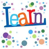 Learn — Stock Photo