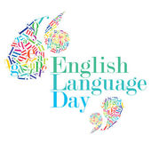 English Language Day — 图库照片