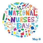 National Nurses Day — Stock Photo