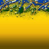 Brezilya futbol arka plan — Stok fotoğraf