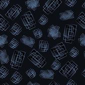 Pattern of figures — Wektor stockowy