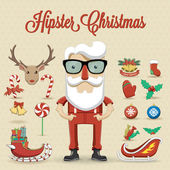Santa Claus character — Stock Photo