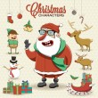 Christmas characters — Stock Vector #38958237