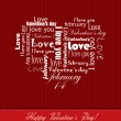 Valentine's Day card — Stock Vector #38960165