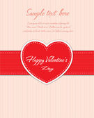 Valentines Day card design — Stock Vector