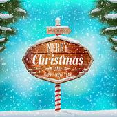 Christmas greeting card — 图库矢量图片