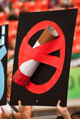 No smoking sign — Stock Photo