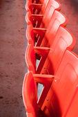 体育场椅子 — 图库照片