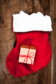 Socks with gifts — Foto Stock