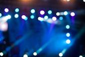 Konser ışıklar bokeh — Stok fotoğraf