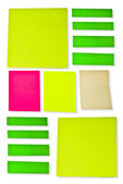 Post-it paper — Stock Photo