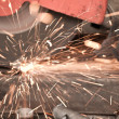 Grinder Steel Industry — Stock Photo
