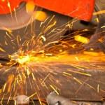 Grinder Steel Industry — Stock Photo