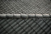 Telhado velho — Fotografia Stock