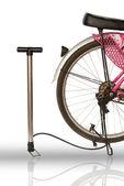 Bicycle pump — Stock Photo