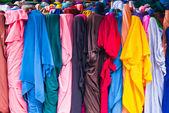 Rollos de tela colorida — Foto de Stock