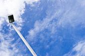 Street light lamp post or lantern on a blue sky — Stock Photo