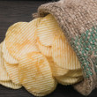 Stock Photo: Potato sack