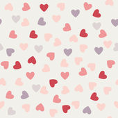 The pattern of hearts to Valentine's day — Stock Vector