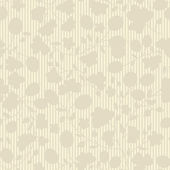 Beige plant silhouette stripes — Stock Vector