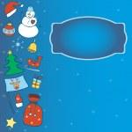 Winter card — Stock Vector #40418539