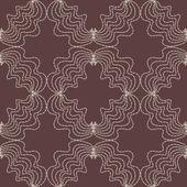 Абстрактный фон коричневые точки шаблона — Cтоковый вектор