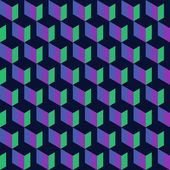 Blue graphic pattern — Vector de stock