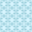 Neutral floral ornament. cool blue — Stock vektor