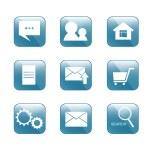 Icon for internet-shop — Stock Vector