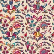 Abstract floral pattern — Stockvektor