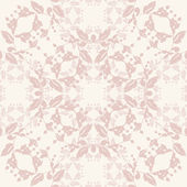 Neutral floral background — Stock Vector