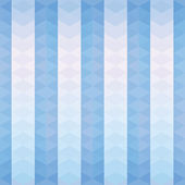 Blue triangles striped pattern — Stock Vector